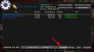 Tradeskillmaster Guide deutsch