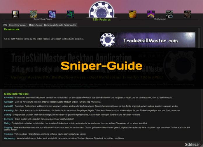 TSM Sniper Guide